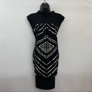London Times Sleeveless Dress Size 8 P-36
